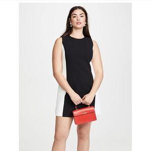 Alice + Olivia classic black & white dress size 12